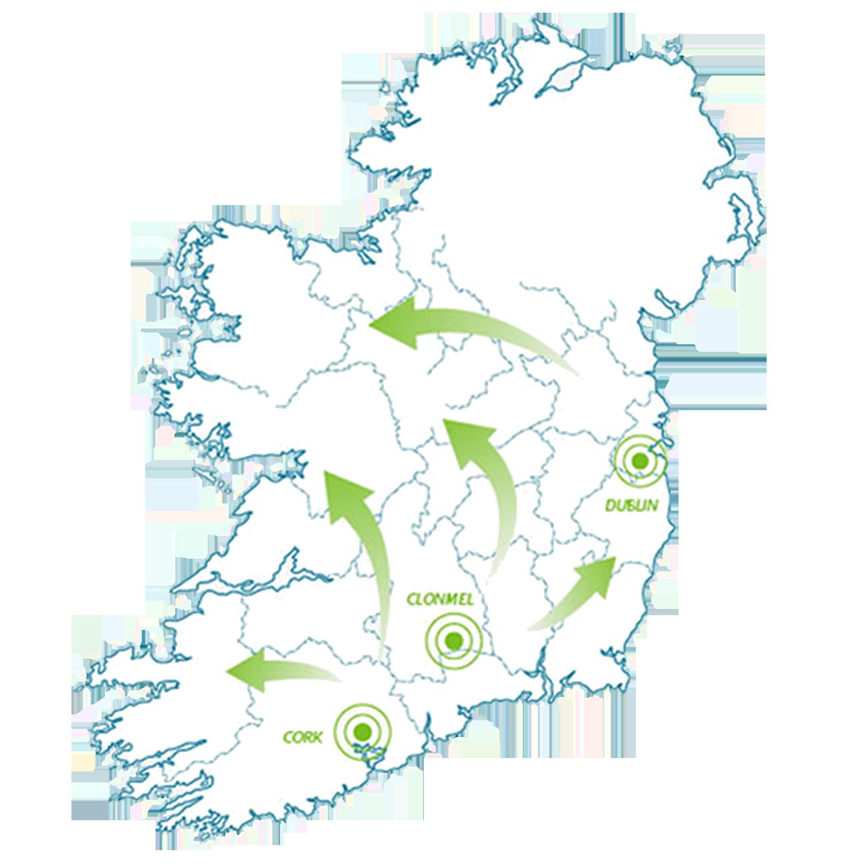 Outline Map Of Ireland.Outline Map Of Ireland Hi 2